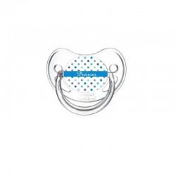 Tétine point bleus personnalisable bébé