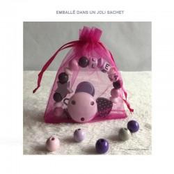 Sachet cadeau rose (couleur non contractuelle)