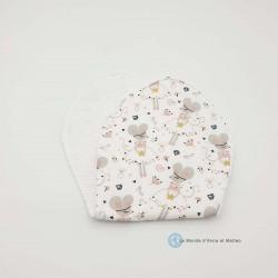 Protège-épaule bébé ballerine souris