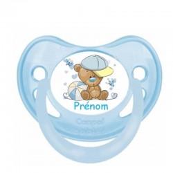 Tétine personnalisable bébé ourson ballon