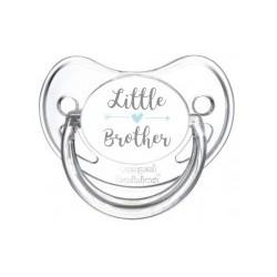 Tétine personnalisable little brother (petite frère)
