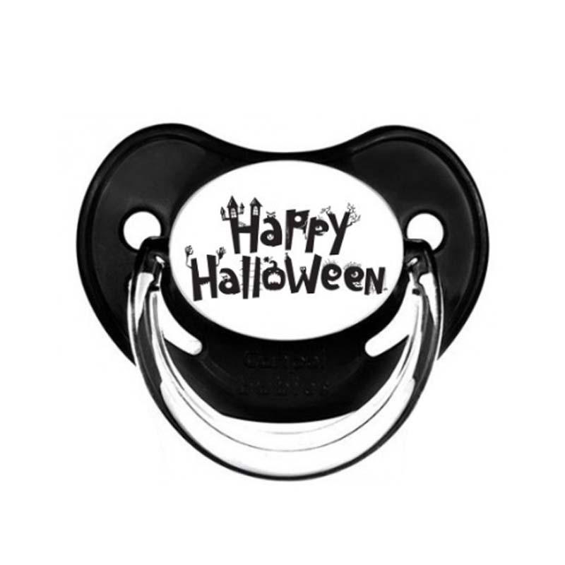 Tétine personnalisable bébé pour Halloween