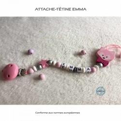 "Attache-tétine ""Emma"""