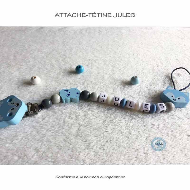 "Attache-tétine ""Jules"""