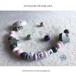 "Attache-tétine ""Léa"""