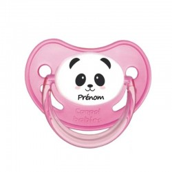 Tétine personnalisable panda fille