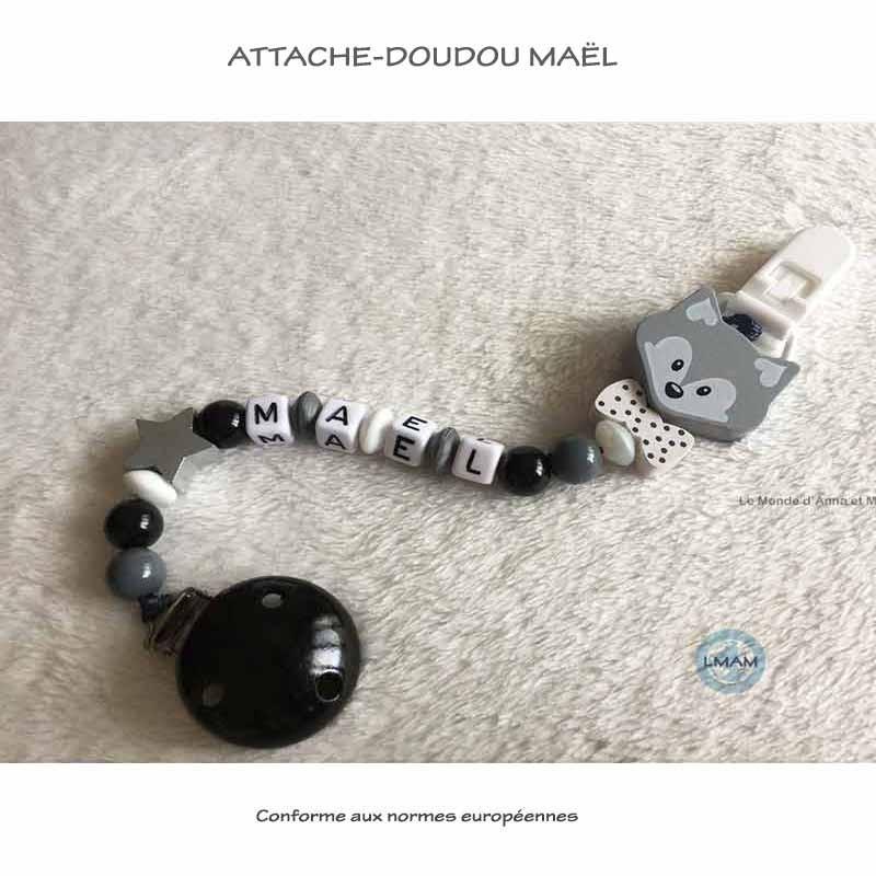 """Attache-doudou """"Maël"""""""