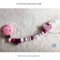"""Attache-doudou """"Zoé"""""""