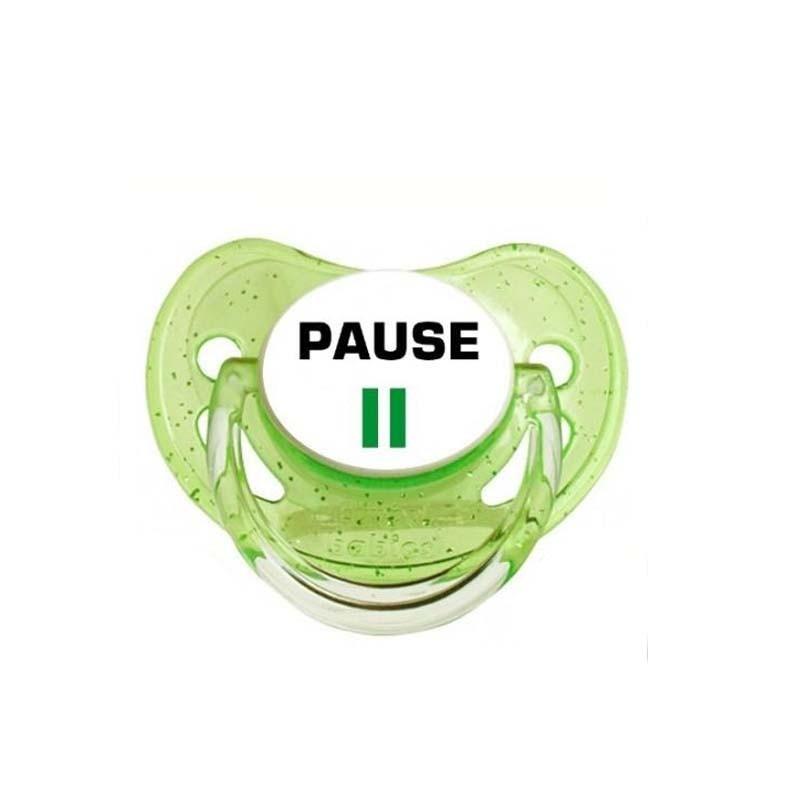 tétine personnalisée : pause