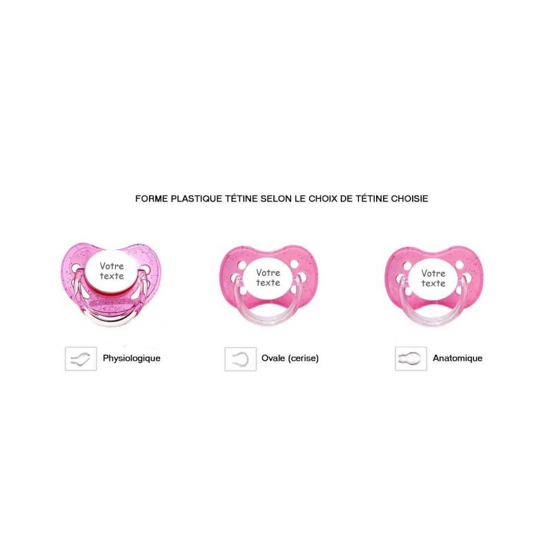 Les différentes formes de tétine pour bébé