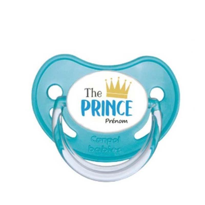 Tétine personnalisable the prince au prénom de l'enfant