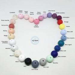 Nuancier de 29 couleurs disponibles