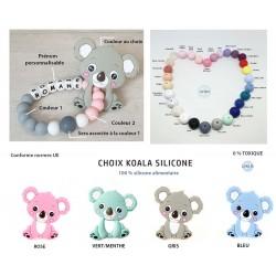 Anneau dentition Koala silicone pour dents de bébés