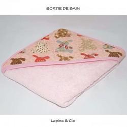 """Sortie de bain : """"lapins et cie"""""""