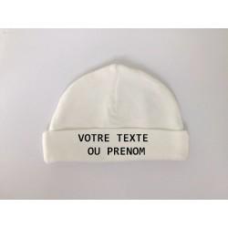 Bonnet de naissance - 100 % coton