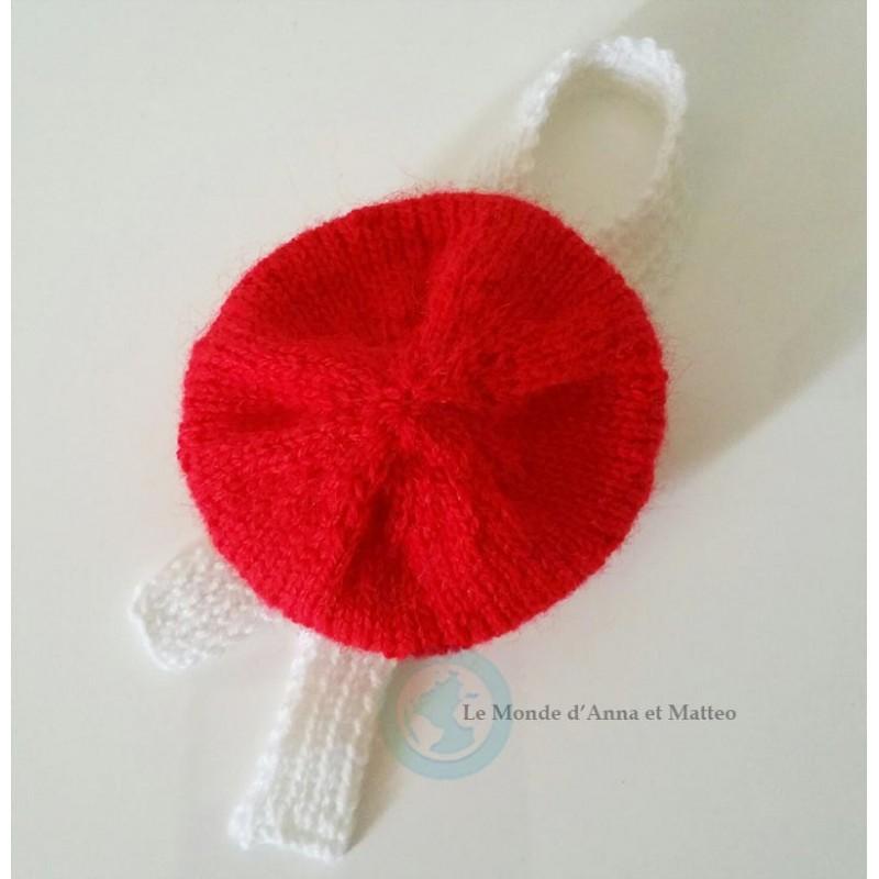 Lot écharpe et bonnet faits à la main pour Rosie, Anna ou Soyune
