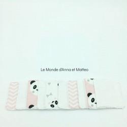 Lingettes lavables bébé/maman - 8 x 8 cm.