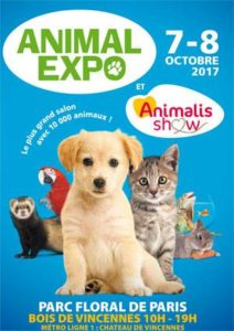 animal expo 2017 parc floral de paris