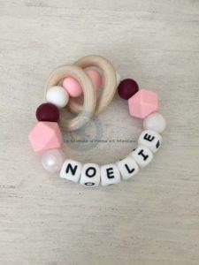 Anneau de dentition Noelie