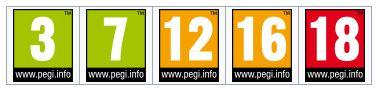 système d'âge du PEGI : 3, 7, 12, 16, 18