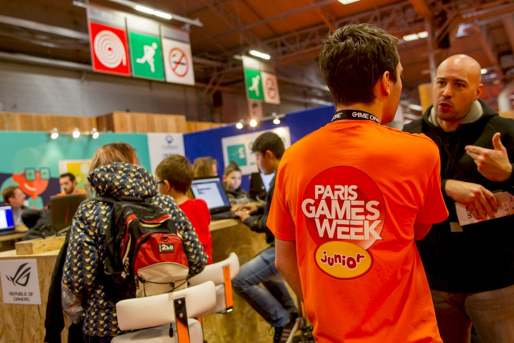 atelier gamecode à la paris games week