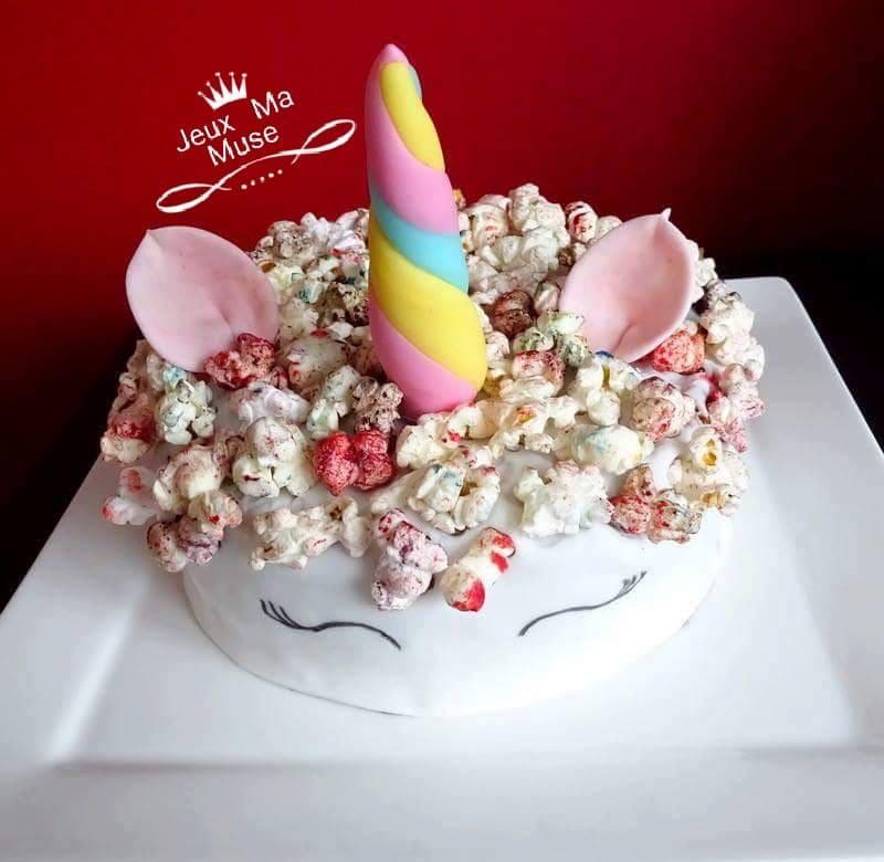 gâteau d'anniversaire jeux ma muse