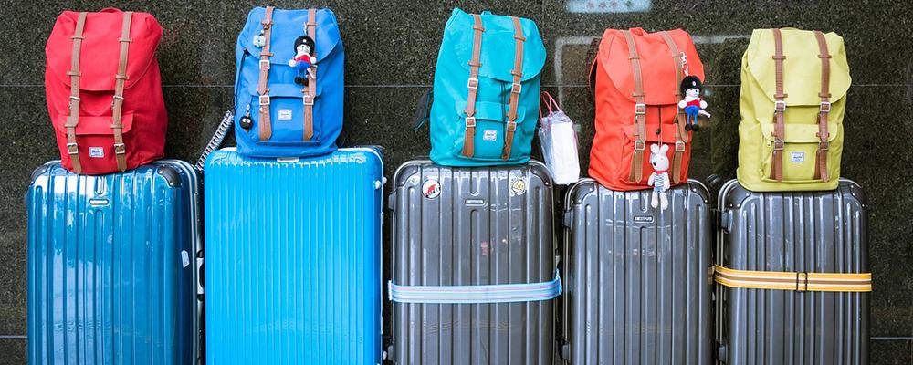 valises départ en vacances