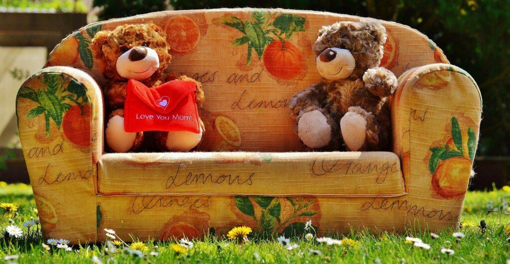 Ours en peluche fête des mères